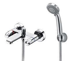 Lossa 1201 Смеситель для ванны с коротким изливом
