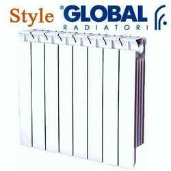 Биметаллические секционные Радиаторы отопления Global Style 575 с боковым подключением - 500 мм (от 4 до 14 секций)
