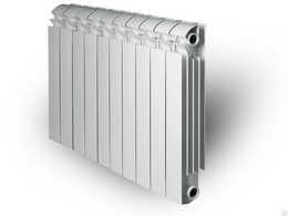 Биметаллические секционные Радиаторы отопления Global Style Plus 575 с боковым подключением - 500 мм (от 4 до 14 секций)