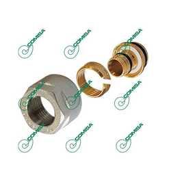 Концовка компрессионная для металлопластиковых труб (Фитинги компрессионные MULTI-FIT Comisa)