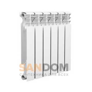 Радиаторы отопления биметаллические LAMMIN ECO BM секционные 578 с боковым подключением - 500 мм (от 4 до 12 секций)