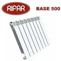 Биметаллические радиаторы отопления Rifar Base 500 с боковым подключением (от 4 до 14 секций)