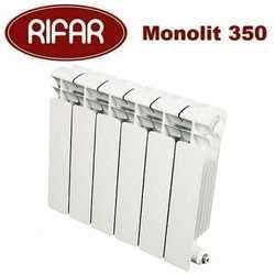 Радиаторы отопления Rifar Monolit L 415 биметалл с боковым подключением - 350 мм (от 4 до 14 секций)