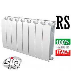 Секционные радиаторы отопления Sira RS L372 биметалл с боковым подключением - 300 мм (от 4 до 12 секций)