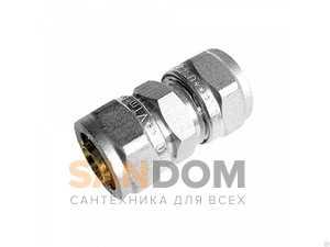 """Соединение прямое, (VTm.303.N.001616) Ду 16"""" х 16"""" мм"""
