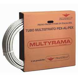 Труба металлопластиковая Prandelli Multyrama PEX-b D16х2.0 (0.2 мм), бухта 200 м