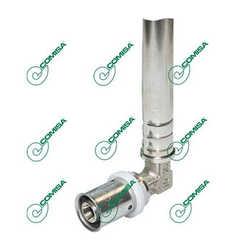 Трубки для подключения радиаторов Comisa (пресс-трубки хром)