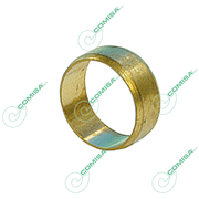 Зажимное кольцо для медной трубы обжим (латунь) Comisa